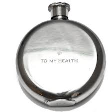 indeed!  to my health flask / izola