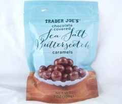when in doubt, say it with butterscotch.  or caramel.  chocolate covered sea salt butterscotch caramels / trader joe's